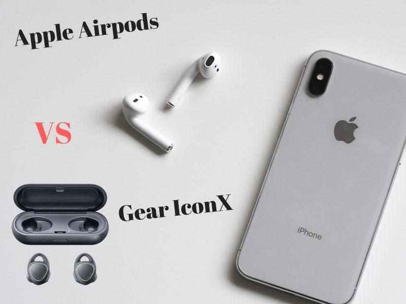 Gear IconX vs Airpods 2018 , quale risulta migliore