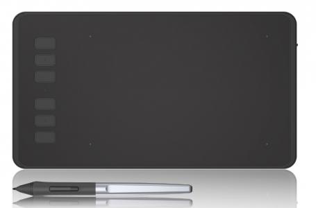 Una buona tavoletta grafica economica, la HUION Inspiroy H640P