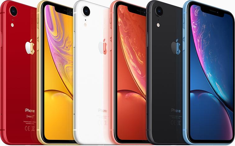 nuovi iphone xr diversi colori