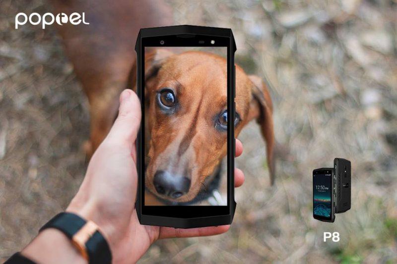 Ecco Poptel P8 il rugged phone dal prezzo più basso del mondo