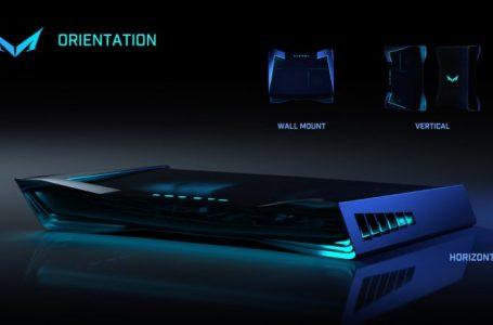 Prime Foto del Design Ufficiale Mad Box, la Console Migliore al Mondo