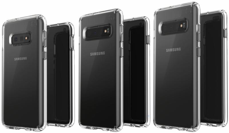 Samsung Galaxy S10 tre modelli foto