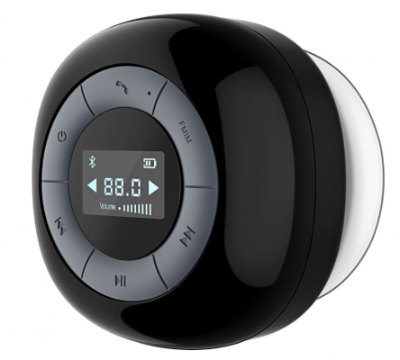 Altoparlante Bluetooth VTIN Relaxer; Ideale da usare sotto la doccia
