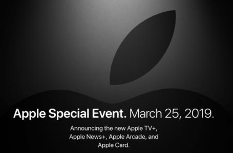 Keynote Apple del 25 Marzo; Ecco tutto quello che è stato presentato