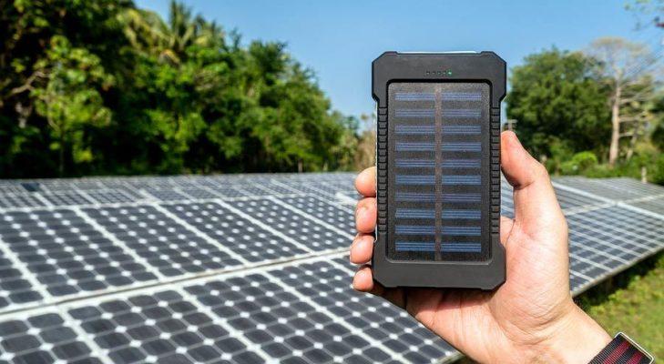 Power Bank con Pannello Solare