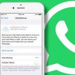 Backup Whatsapp bloccato