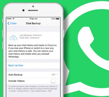 Backup Whatsapp bloccato