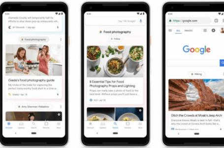 Che cos'è Google Discover e come selezionare i feed di tuo interesse