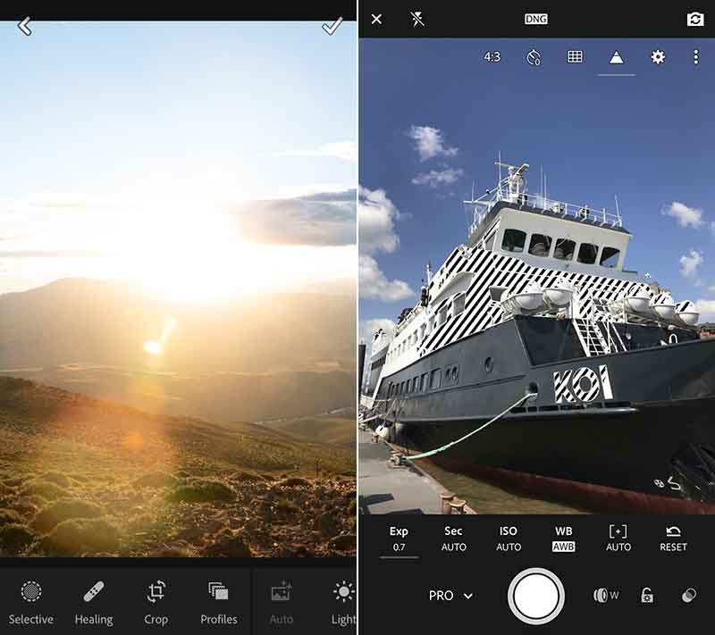 Scattare foto da Lightroom per iPhone