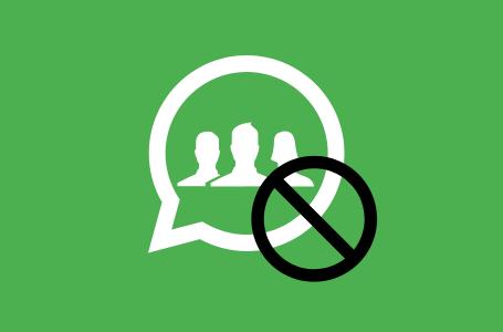 Niente più gruppi indesiderati su Whatsapp: come non essere aggiunti