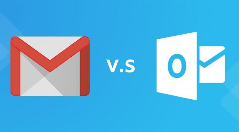 Meglio Outlook o Gmail