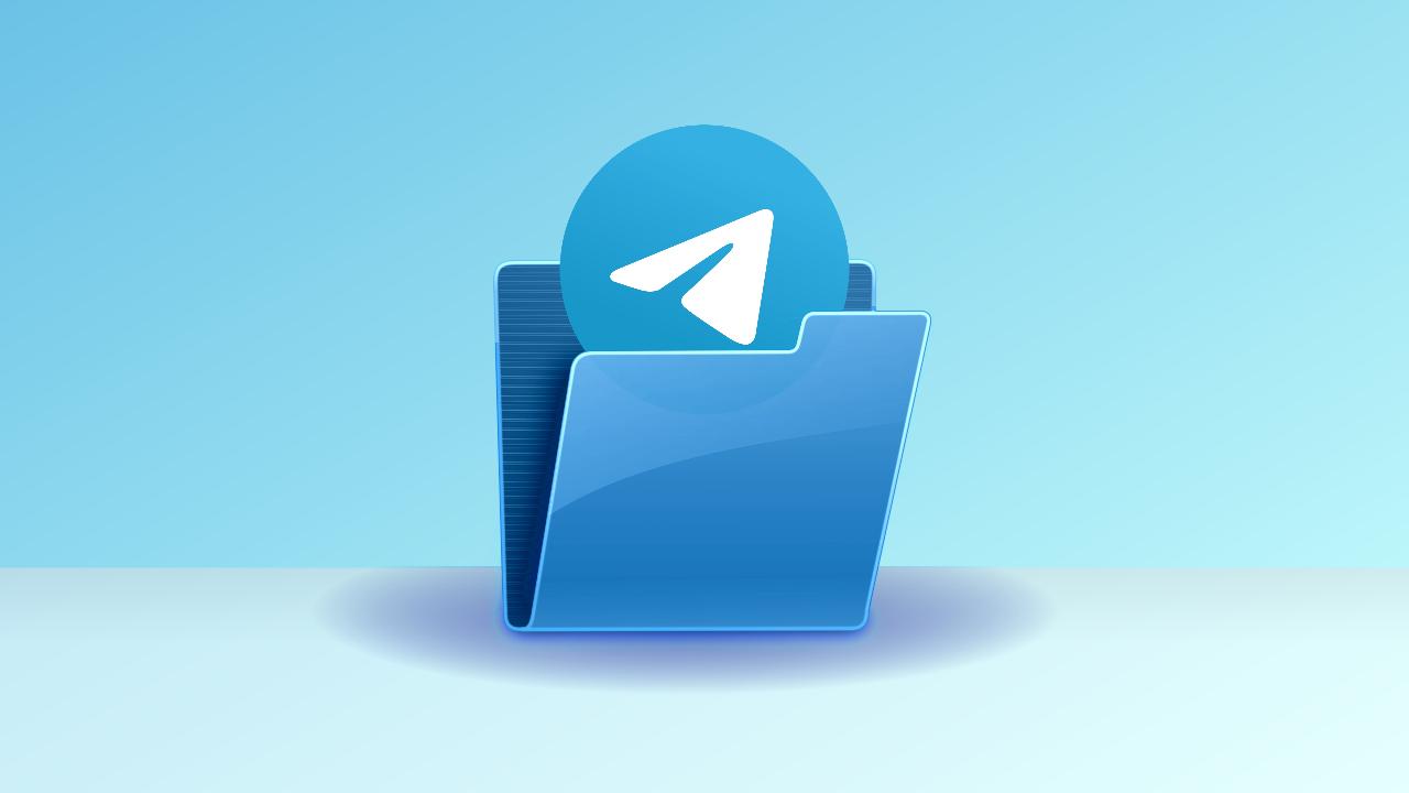 Come creare cartelle chat Telegram