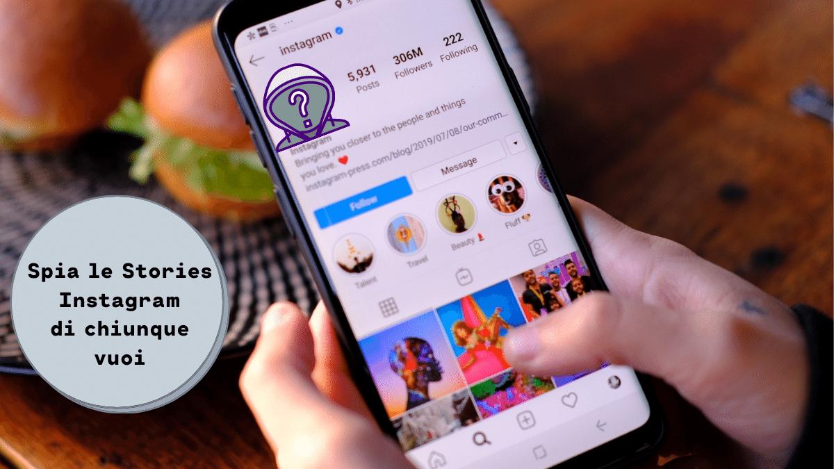 Guardare storie Instagram in anonimo